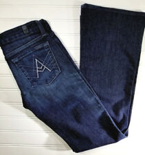 """7 For All Mankind """"A"""" Pocket Jeans Bootcut Womens Size 24 Dark Wash"""
