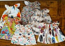 Miniland doll clothes dress 38cm mystery pack 2 dresses handmade