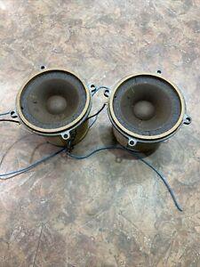 Pair Of 1960's Vintage Wharfedale Tweeter Speakers