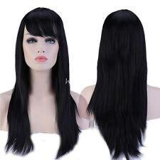 20%off Cosplay Wig Long Hair Anime Costume Full Wigs Heat Resistant Synthetic H8