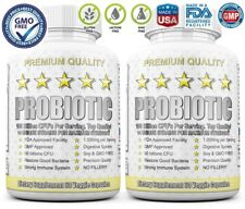 2X ULTRA PROBIOTIC 50-100 Billion CFUs NOW WHOLE ULTIMATE FLORA PRIMAL RESEARCH