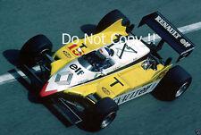 Alain Prost Renault RE30B Monaco Grand Prix 1982 Photograph 3