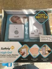 Safety 1st High Def Digital Audio Baby Monitor 1000+ Foot Range