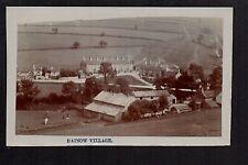 Rainow Village - real photographic postcard
