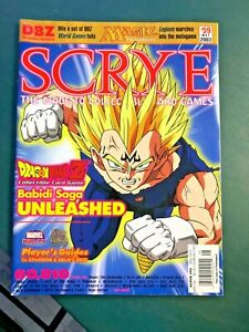 may 2003 SCRYE #59 guide to ccgs Magic Dragonball Z marvel heroclix LOTR