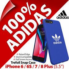 """Adidas Trèfle Toile Snap Étui pour Apple IPHONE 6/6S/7/8 Plus (5.5 """""""