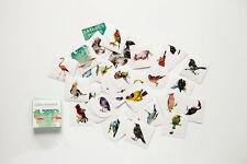 1 box of 40 PCS bird diary stationery paper deco envelope sealing label sticker
