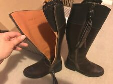 Brown Leather Tassel Boots - UK40 / 6.5-7 similar to Penelope Chilvers / Fairfax
