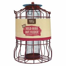 Kingfisher Purple Metal Wild Bird Nut Feeder Squirrel Proof Hanging Garden