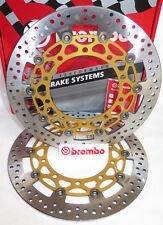 Brembo Front Floating Brake Rotors for Kawasaki H2 H2R 330mm
