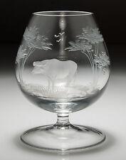 Rowland ward pour moser safari série brandy glass-buffalo
