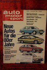 AMS Auto Motor Sport 15/80 Renault 5 Turbo Talbot Rancho Ford Granada