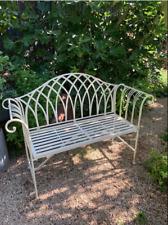 Kiftsgate Metal Garden Bench