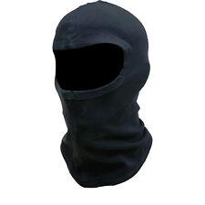 Black Balaclava Bike Motorcycle Motorbike Helmet Face Mask Neck Warmer Rib