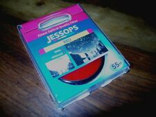 JESSOPS RED BLACK + WHITE B&W CONTRAST EFFECT PHOTOGRAPHY GLASS FILTER 55MM 8.0