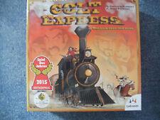 """""""Colt Express""""-mit echtem 3D-Zug = Spiel 2015 (Gold am Ende der Bahn)-OVP"""