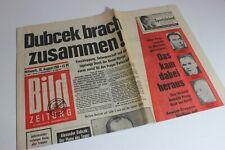 BILDzeitung 28.08.1968 August Umschlagsseiten / 4 Seiten   Dubcek