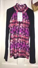 Lorna Jane Palm Tree Printed Jacket Size XL