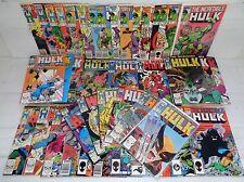 Incredible Hulk: 314-373 + Ann 11-15 SET! #340! 1985 Marvel Comics (b 17996)