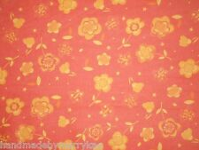 Quilt Cotton Fabric Color Program Orange 10932 Fabri-Quilt Big Flowers BTY