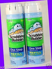 2 Scrubbing Bubble ONE STEP Toilet Bowl Cleaner FRESH MOUNTAIN MORNING REFILL