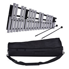 30 Note Glockenspiel Xylophone Educational Musical Instrument w/ Carry Bag U4V9
