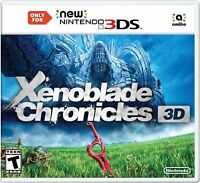 Xenoblade Chronicles 3D (Nintendo 3DS, 2015) Brand New Factory Sealed