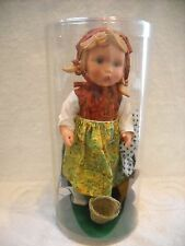 "VINTAGE GOEBEL HUMMEL VINYL 11"" MINT GIRL DOLL MAYBE CALLED WANDERER?"
