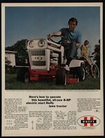 1970 HUFFY CAPRICE 32 Inch Riding Lawn Mower - Tourister Bicycle - VINTAGE AD