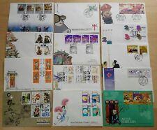 Macau 1997 Complete Set Stamps on 13 FDC 澳门一九九七年发行全套邮票首日封共13个