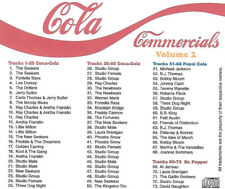 Cola Radio Commercials - LIKE NEW CD - Volume 2
