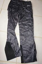 Golf Pants Size M Sunice Tornado Beatrice Waterproof Black Square NEW