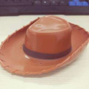"""Disney Pixar Toy Story Woody Hat Cowboy Brown Replacement Accs Hat 5"""" No Dolls"""