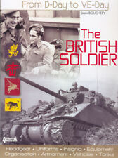 El soldado británico del día D a ve día uniformes del ejército Segunda Guerra Mundial Books