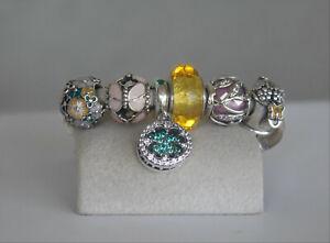 Authentic Pandora Charms  set  of 6