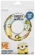 Inflatable Minion Swim Ring Swimming Children Kid Child Safety Despicable Me
