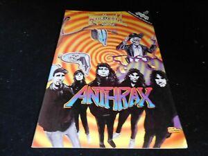 Vintage Revolutionary Anthrax Rock N Roll Comic Book #24