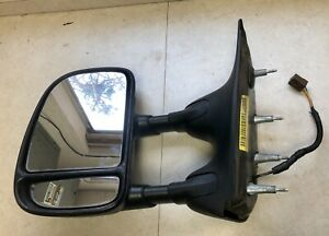 2009 -2015 09 - 15 Ford E-250 E-350 OEM Towing Power Mirror  Left Driver Side LH