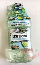 New Listerine Mouthwash Mouth Wash Coconut And Lime Zero Alcohol 250ml.