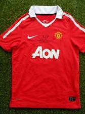 JAAP STAM Hand Signed Manchester United Football Shirt - COA - Man Utd Autograph