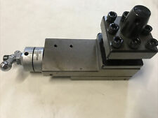 Used HH05-06 2 Ways Mini Lathe Tool Post Vice Clamp 50x50mm Quick Change UK