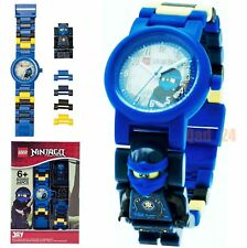 Lego Jay Ninjago 8020905 Minifigure Link Buildable Wrist Watch Kids Toy Gift Set