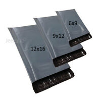 MIXED SIZES X 60 Grey Postal Bags Strong Plastic Mailing Mail Parcel Post Poly
