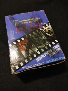1983 Topps Star Wars Return of the Jedi Series 1 Unopened Box 36 Wax Packs