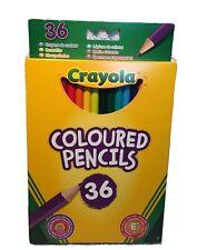 Crayola Coloured Pencils pack of 36 - NEW* Crayola Coloured pencils 36 Pack