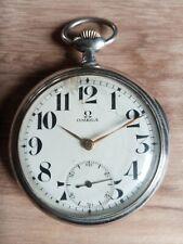 Vintage Omega old poket watch before 1920 case 52 mm.