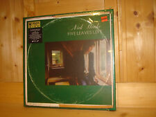 NICK DRAKE Five Leaves Left ISLAND UNIVERSAL AUDIOPHILE DELUXE LP BOX NEW SEALED