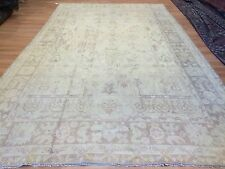 Antique Anatolian - 1900s Turkish Oushak Rug - Gallery Carpet - 7.5 x 12.9 ft.