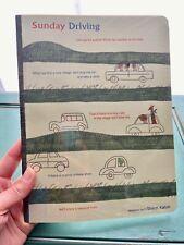 "SHINZI KATOH Sunday Driving Cars Large Size Ruled Lined Paper 9.5"" Journal NEW!"