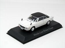 Modelo 1:43 Mazda Luce Rotativa Coupé 1969 Blanco Negro Norev 800642